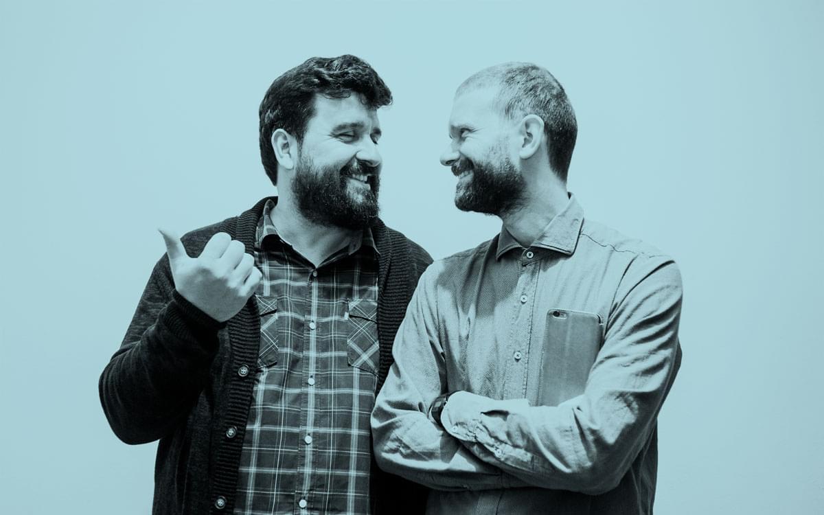 Suso Vázquez e Cibrán Rico