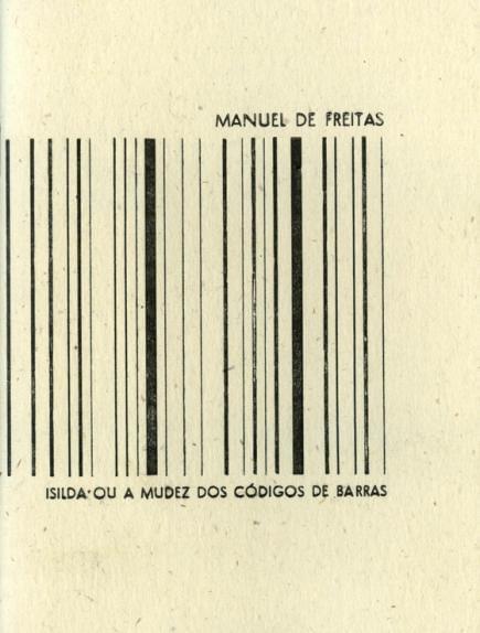 Isilda ou a mudez dos códigos de barras