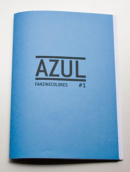 fanzinecolores:  #AZUL